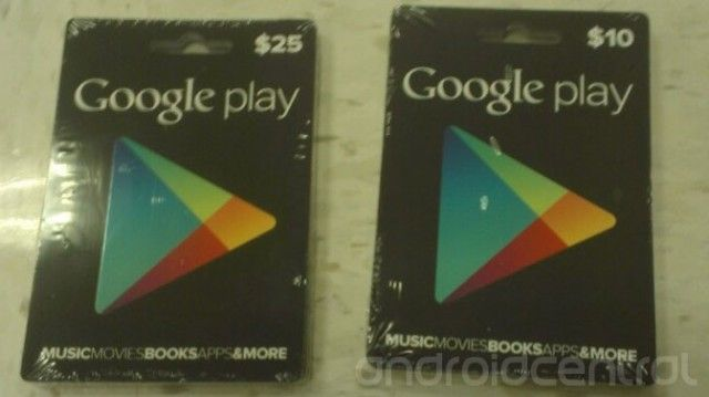 Google Adding Gift Card Support To Play Store Mobilesyrup Com