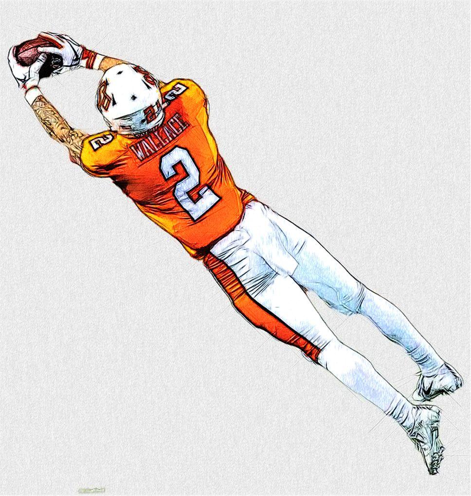 Oklahoma State WR Tylan Wallace Ncaa college football