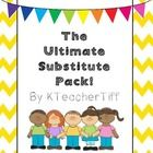 This sub binder is packed with tons of stylish  forms to help you organize for a substitute! Three lesson plans for popular books each come with pr...