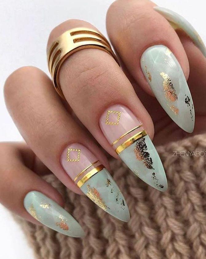 110+ Best Natural Short Nails Design für den Herbst – Nails Design – #best #den #Design # for #Fall