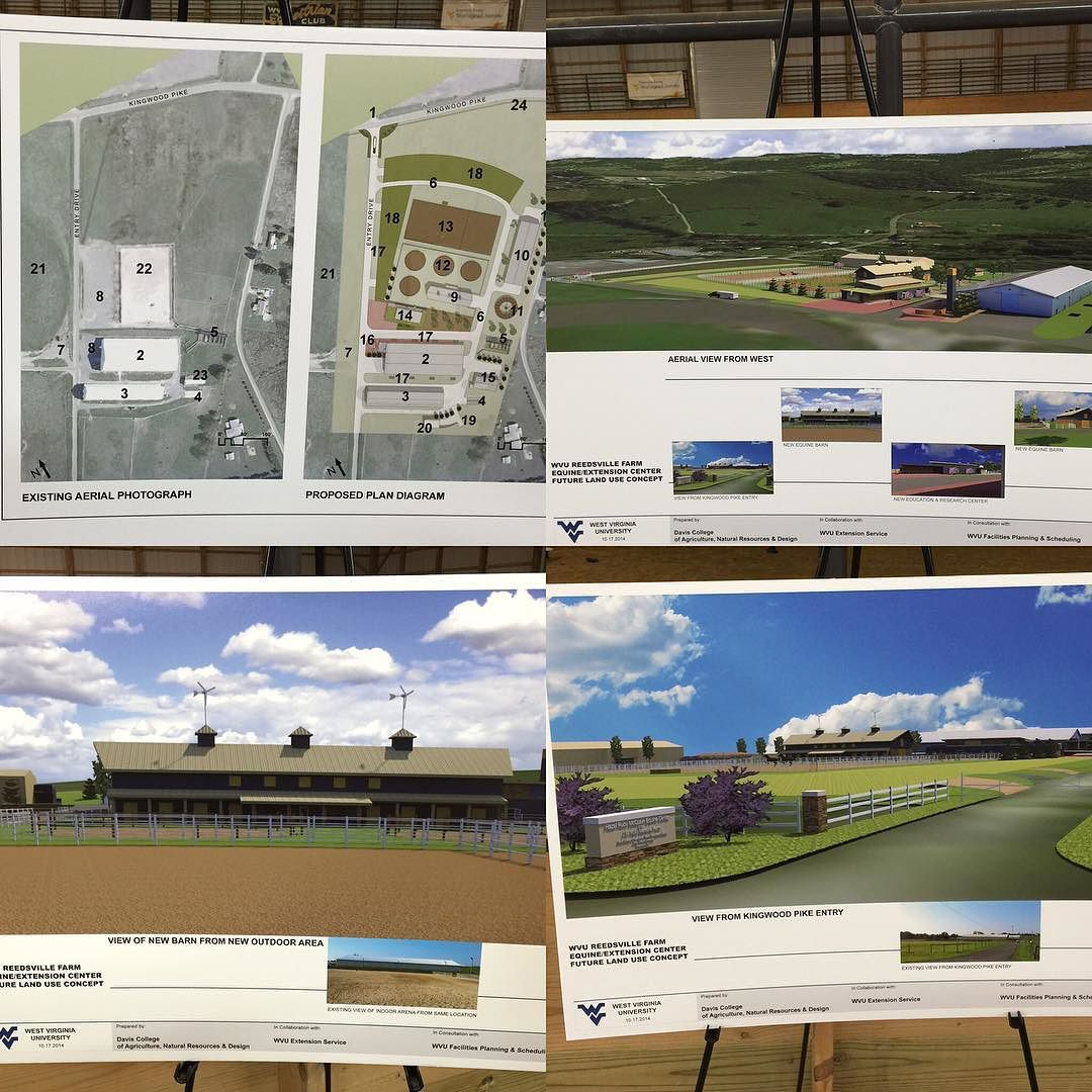 I cannot wait to see this incredible transformation occur to the #JWRubyFarm  the home of the #WVUEquineStudies Program! #TopEquineProgram #ChooseWVUEquineStudies #wvextension #WV4H #wvudaviscollegeofagriculture