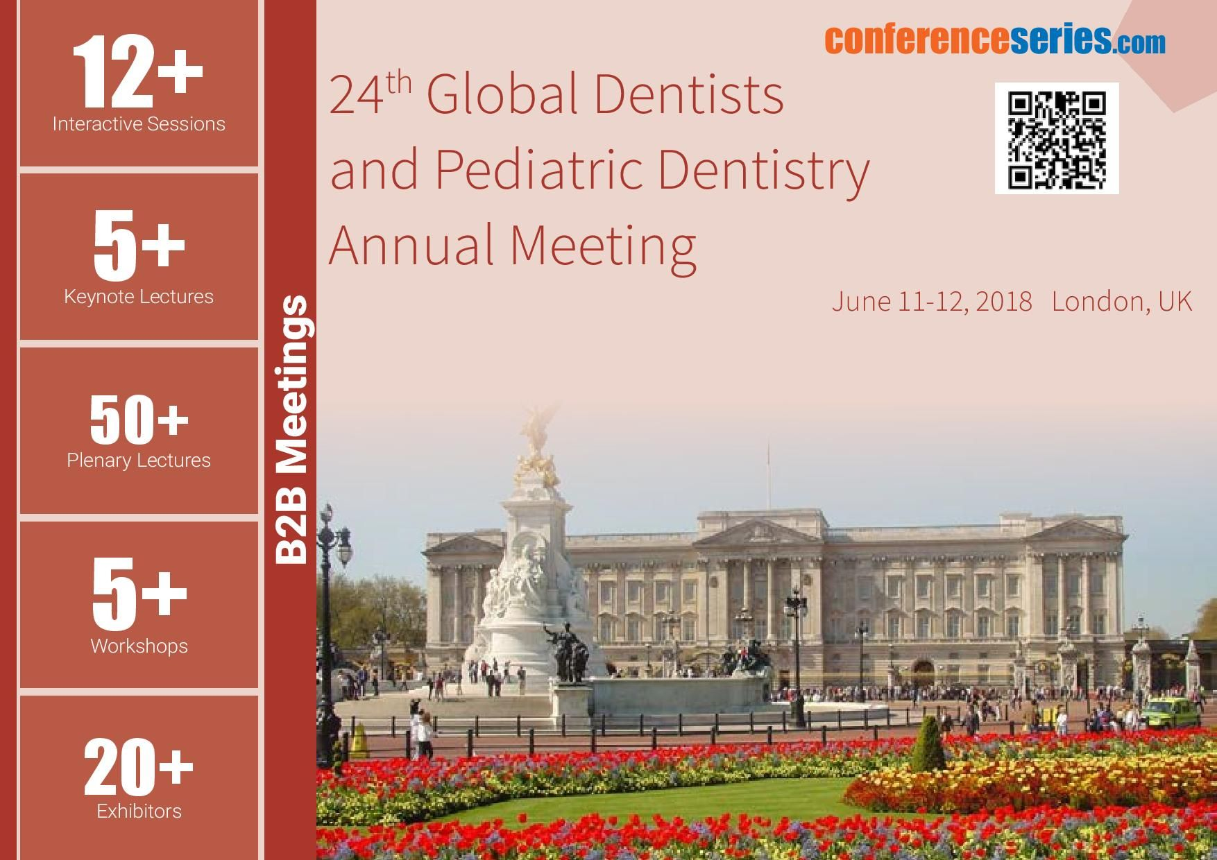 24th Global Dentists and Pediatric #Dentistry Annual Meeting