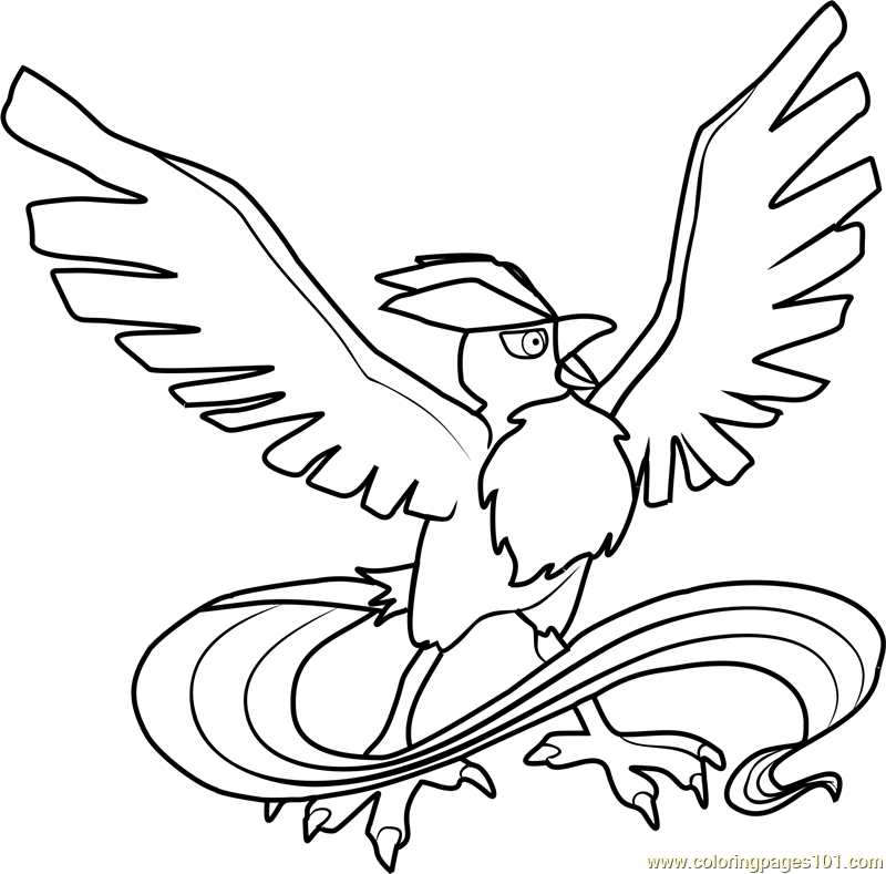 Articuno Pokemon Coloring Pages Pokemon Coloring Pages Articuno Pokemon Pokemon Coloring