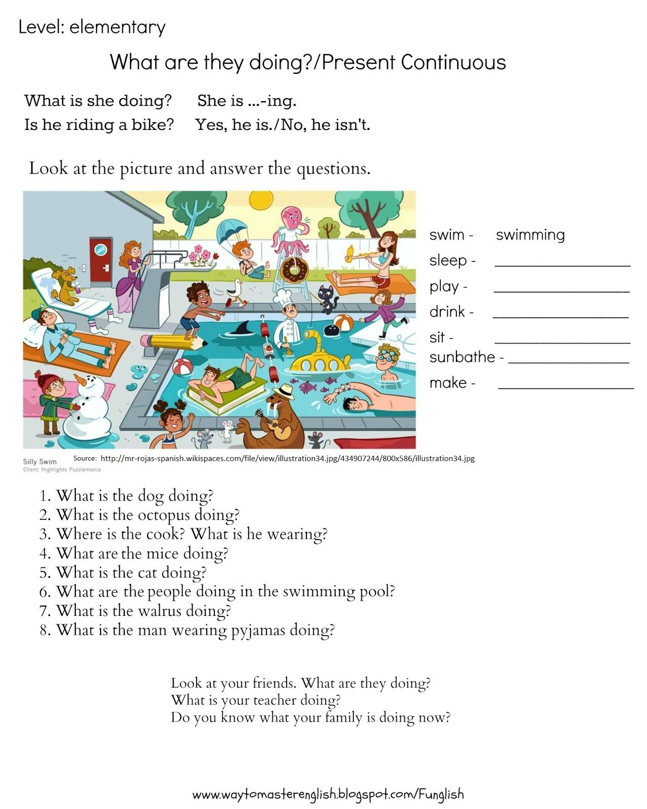 Blog Dla Nauczycieli Jezyka Angielskiego Gotowe Materialy Do Prowadzenia Lekcji Pomysly Ins Foreign Language Teaching English Fun English Grammar Worksheets [ 1600 x 1280 Pixel ]