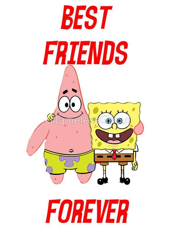 Patrick & Spongebob best friends forever by NamelessGhoul