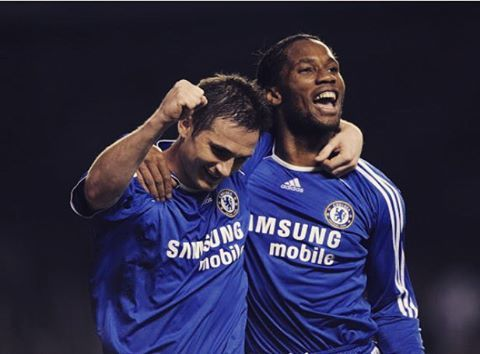 Super Frank Assisted Didier Drogba 24 Times A Premier League Record From One Player To Another Super Frankie Lampard Breaking And Setting So Many Reco