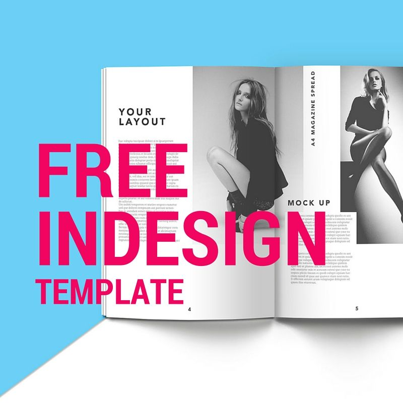 Free InDesign Templates to learn and improve Indesign templates - free booklet template