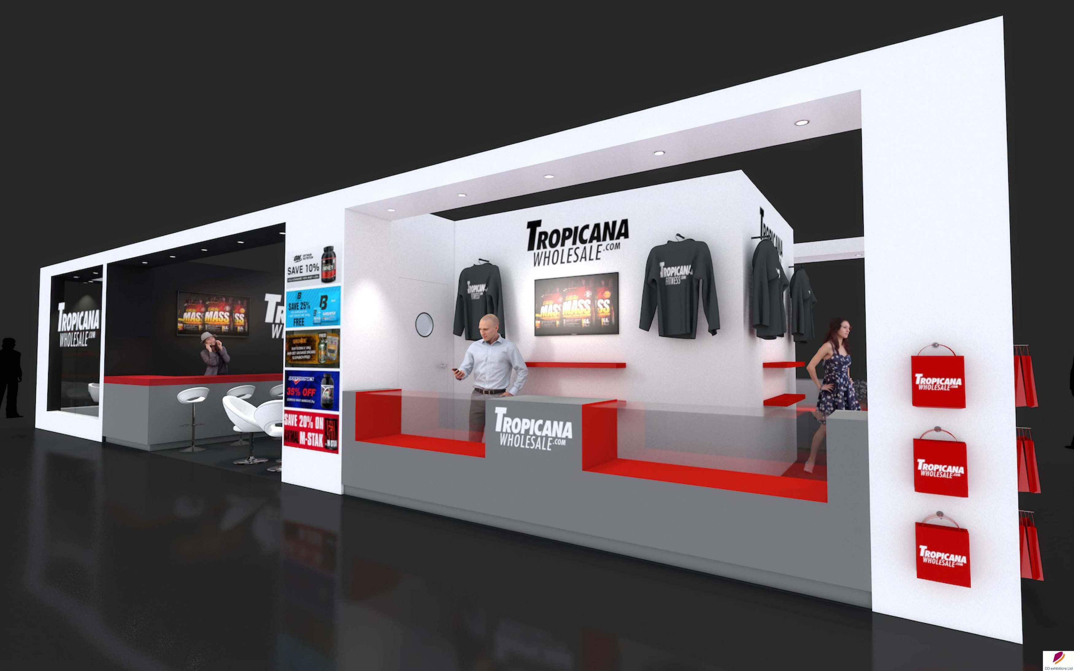 Expo Exhibition Stands Election : Exhibition stand design created for