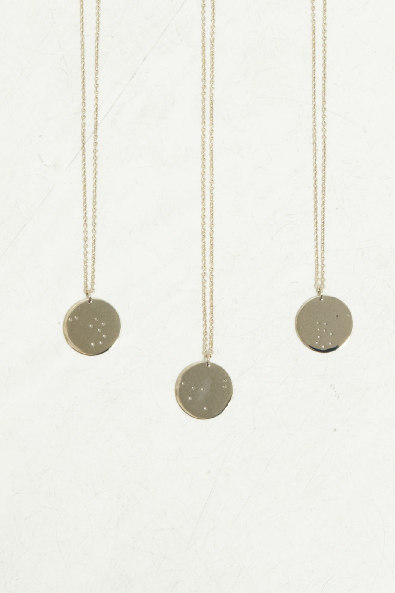 Trine tuxen zodiac necklaces all signs jewelry pinterest