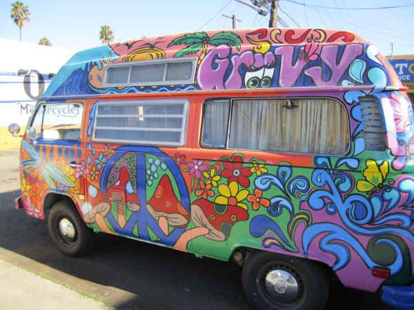 hippy bus week vw buses pinterest kreativ basteln wohnwagen und kombis. Black Bedroom Furniture Sets. Home Design Ideas