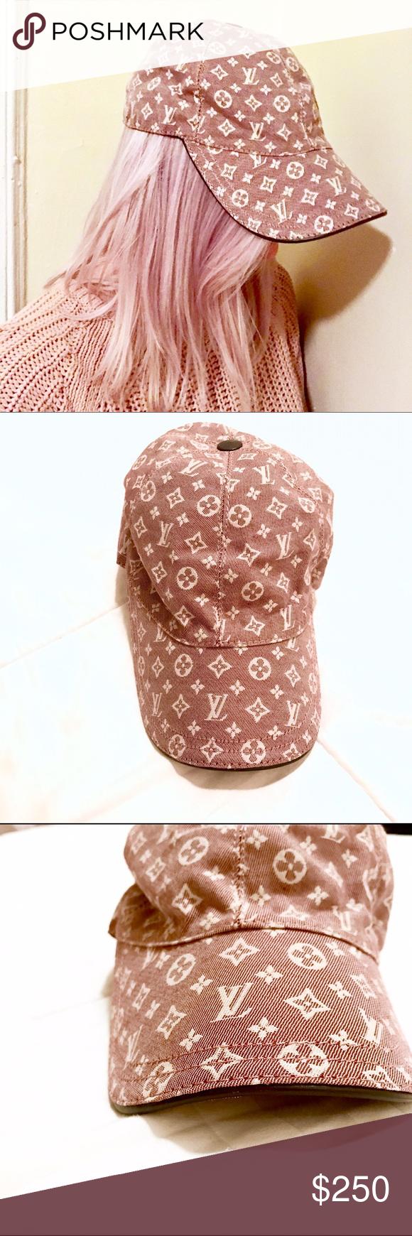 8e84226f1bd ⱽᶦⁿᵗᵃᵍᵉ Authentic Louis Vuitton Cap Hat Details ⇣ ➺ Rare authentic vintage Louis  Vuitton baseball cap