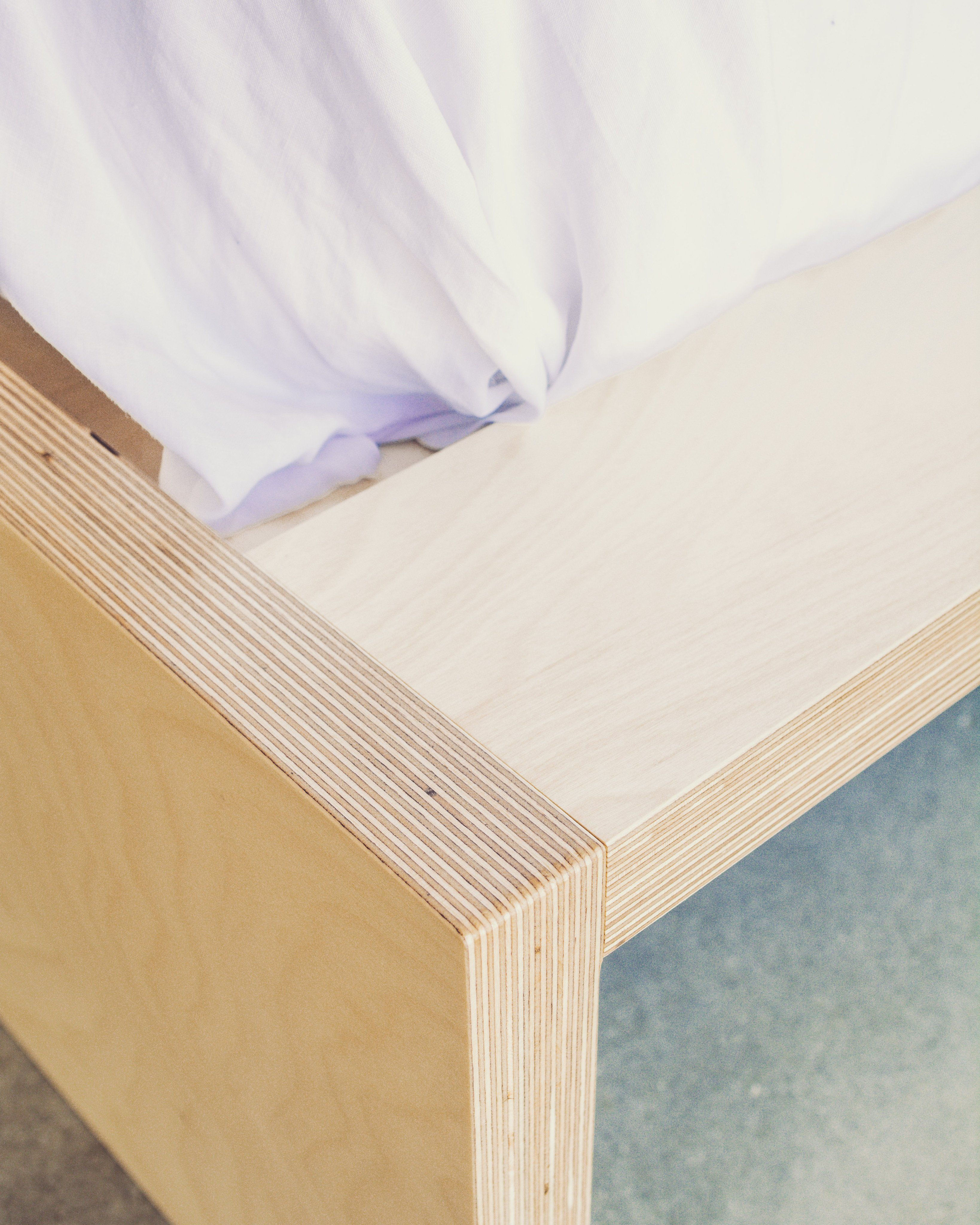 Plywood Bed Minimalist Bed Frame Minimalist Bed Plywood Bed