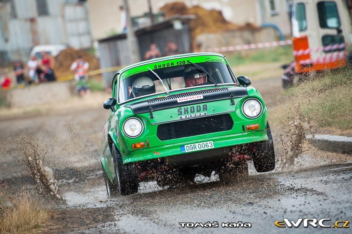 Tomáš Carbol; Kristýna Smrčková; Škoda 120 S; Rally Vyškov 2015
