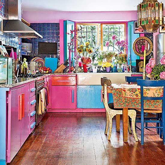 10 Boho Chic Kitchen Interior Design Ideas: Interior Design~French Decorating~Shabby Chic Decorating