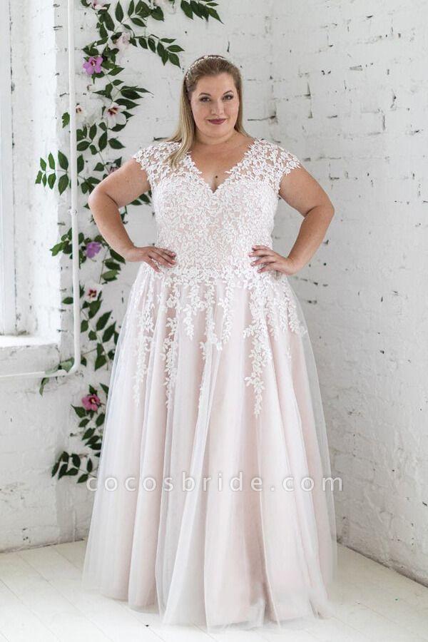 Plus Size Lace Up Short Sleeve A Line Wedding Dress Wedding Dresses Australia Long Sleeve Wedding Dress Lace A Line Wedding Dress
