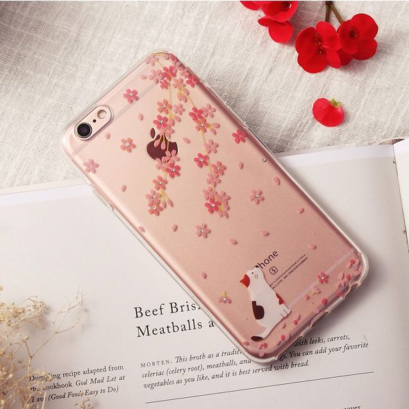 Floral Print Mobile Case - iPhone 6s / 6s Plus