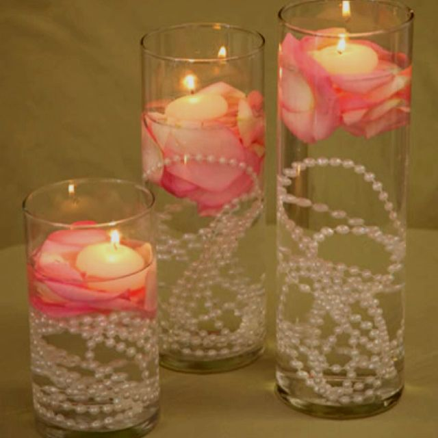 Easy Floating Candle Centerpieces: Easy To Make Seasonal Or Themed For Table