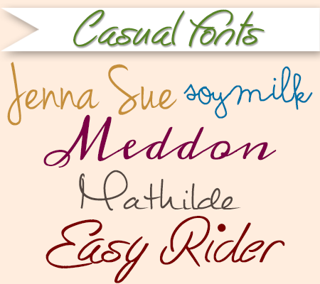 Casual Fonts | 50 Free Fonts For Baby Shower Invitations And Birth  Announcements | DisneyBaby.