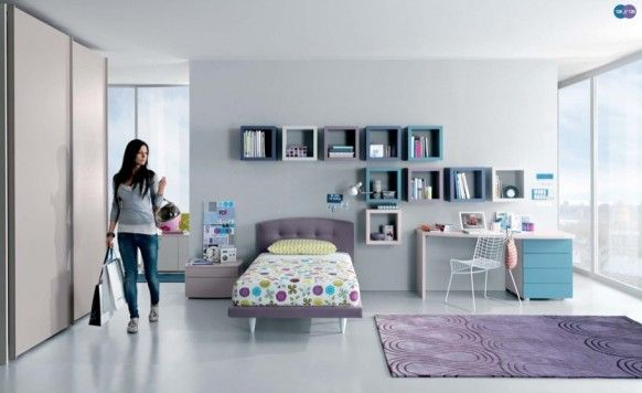 La chambre ado par la compagie italienne MisuraEmme | Maisons et Déco