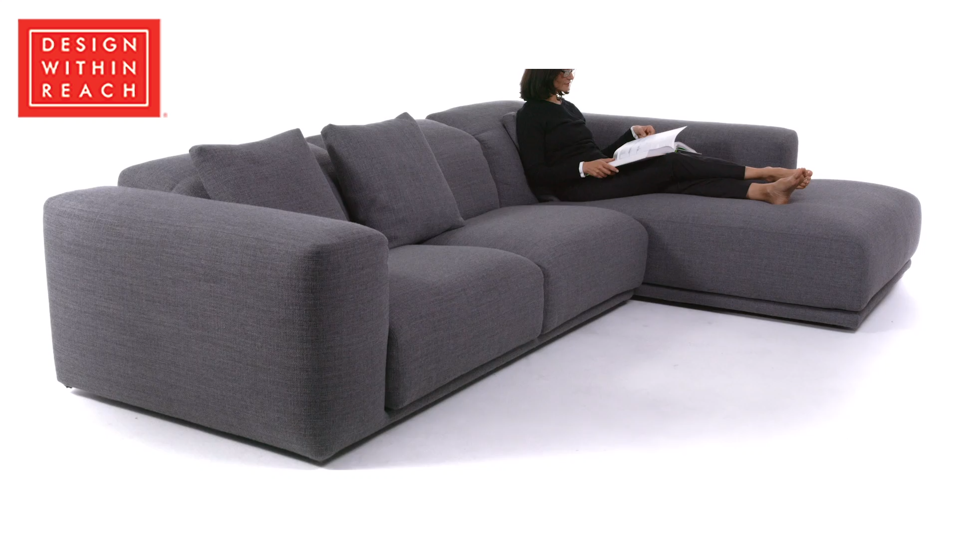 Kelston Sectional Design Within Reach Video Video In 2020 Corner Sofa Design Sectional Sofa With Chaise Living Room Sofa Design