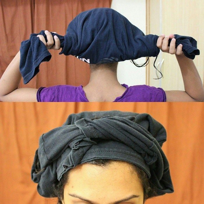 Plopping (Plunking) curly hair | How to plop + 5 benefits | CurlsandBeautyDiary