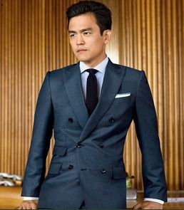 double breasted suit | styles | Pinterest | Fashion wear, Suits