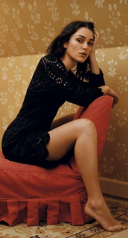 keira knightley feet