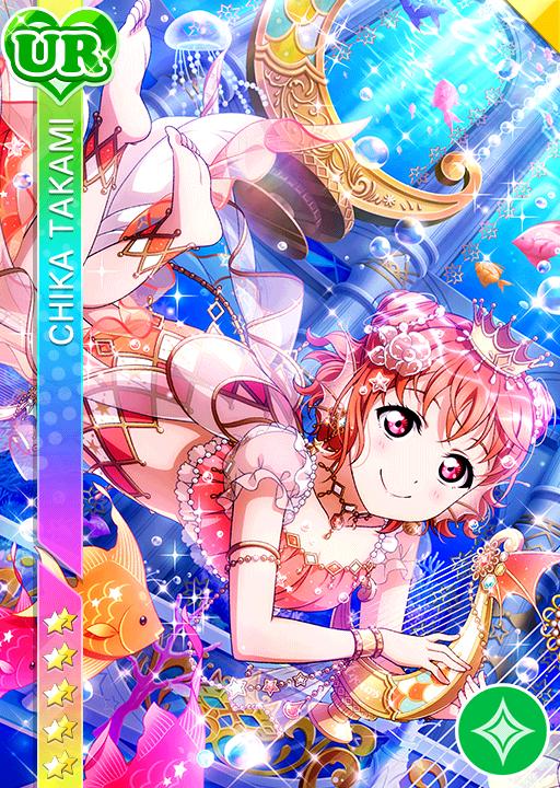 Love Live! School Idol Festival Takami Chika Anime