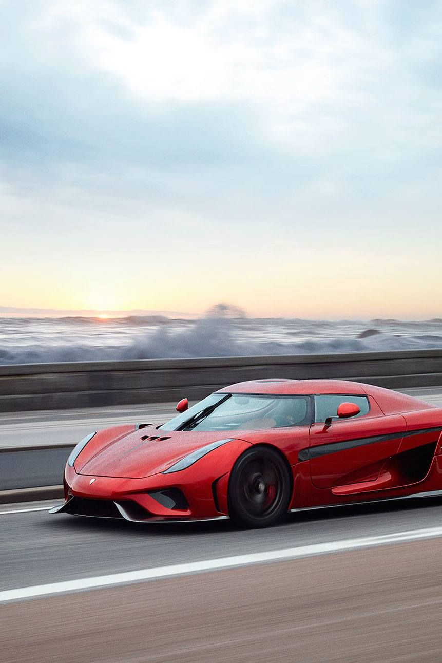 Mobile Hd Wallpapers Candy Red Koenigsegg Regera Sportscar Speed