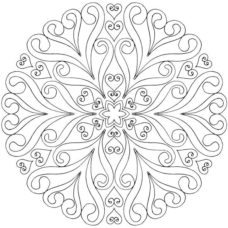 Image result for free mandala coloring pages | OMALOVÁNKY in 2018 ...