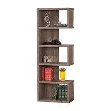 """71"""" Accent Shelves Bookcase"""