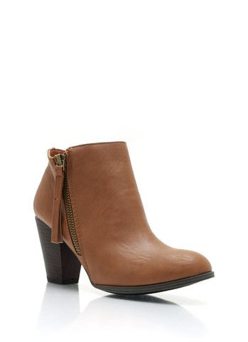 http://dukeandmary.com/ Two Zipper #Boooties, now only for $33! Happy Online shopping with us!