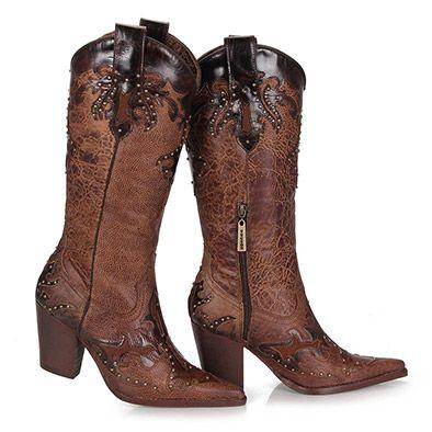 37ae74d345 Bota Country Tucson P446 - Castanho … | Sapatos e Bolsas | Zapat…