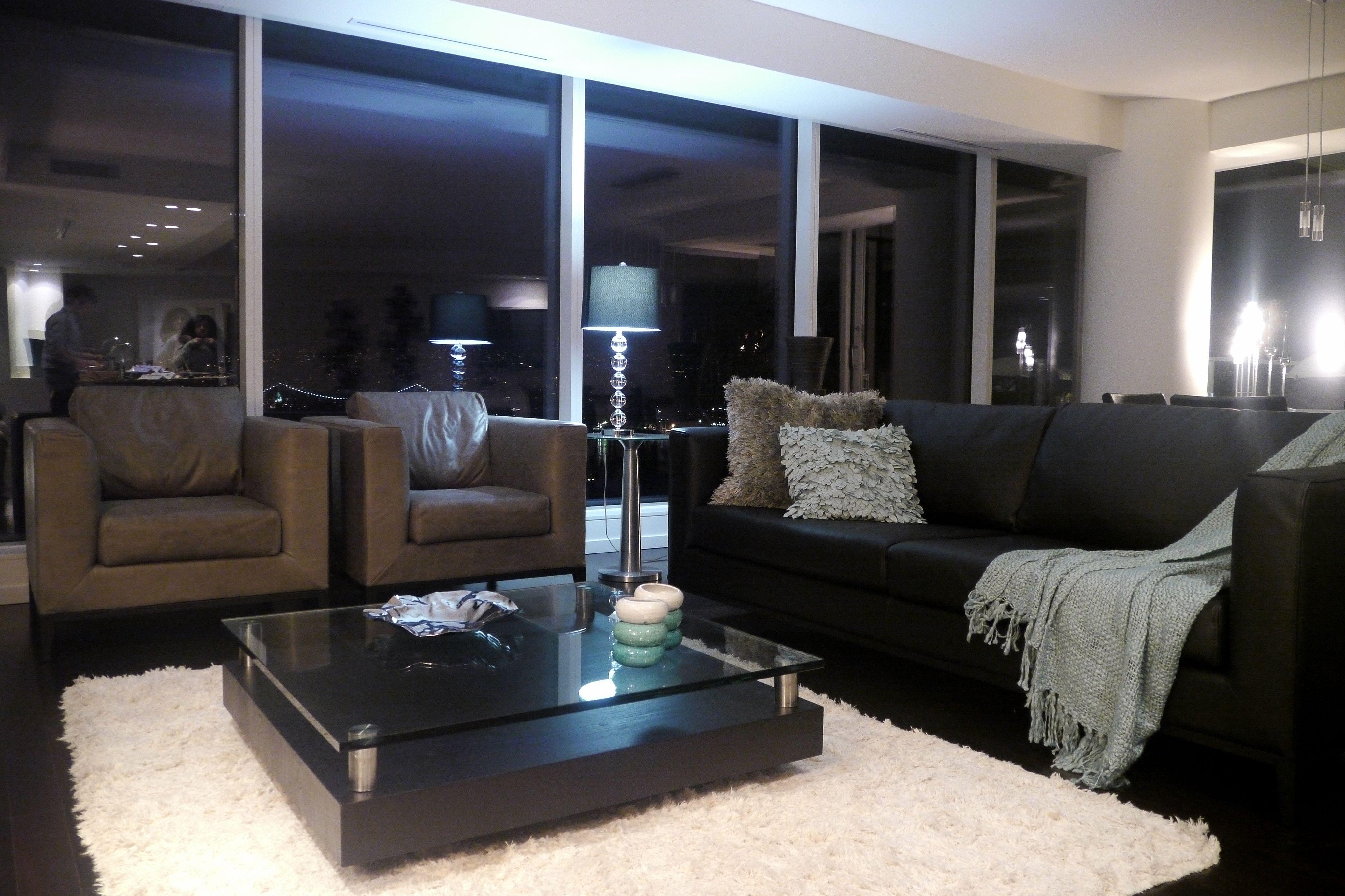 Contemporary Living Room La Roux Sofa Gogreen Coffee Table Zientte  # Muebles Zientte
