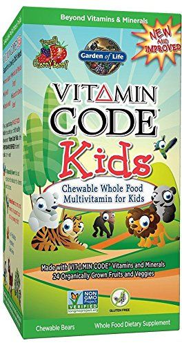 garden of life vegetarian multivitamin supplement for kids vitamin code kids chewable raw whole food - Garden Of Life Multivitamin