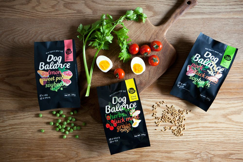 Dog Balance Pet Food Packaging Food Animals Food Packaging