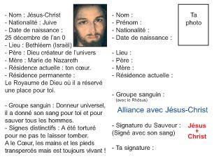 Carte D Identite De Jesus Christ 1 Le Royaume De Dieu Identite