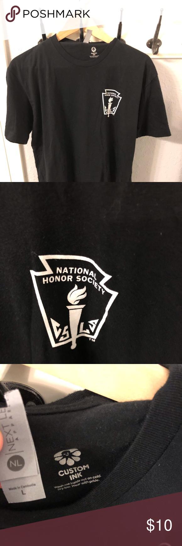National Honor Society tshirt. Size L National Honor