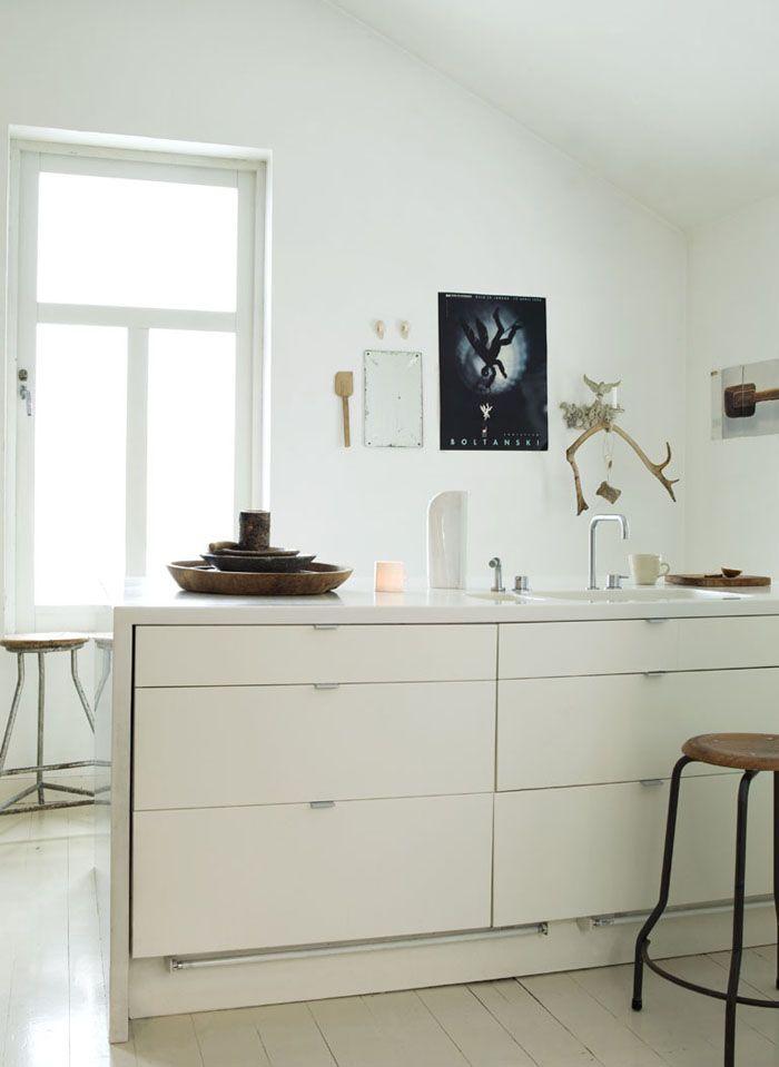 Arbeitsplatte dicke  schöne dicke Arbeitsplatte rundum | Kitchen | Pinterest ...