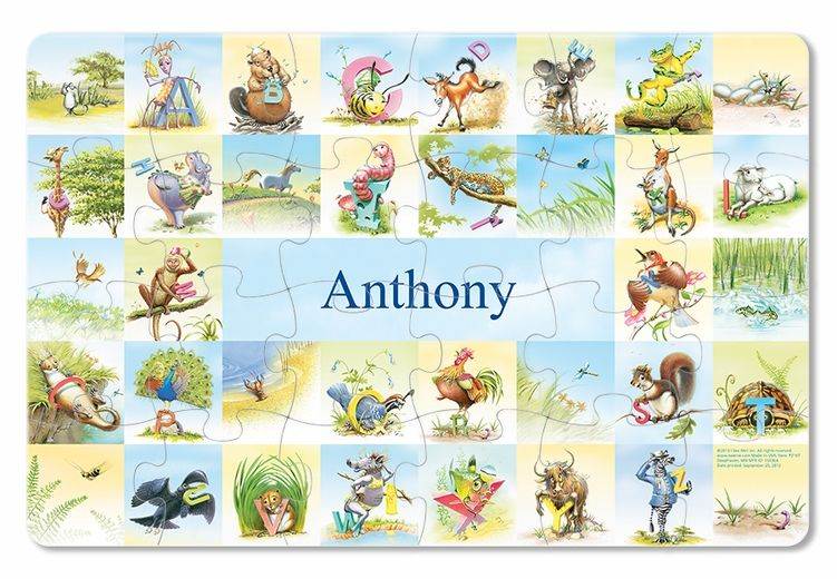 My very own name personalized puzzle your child will enjoy putting my very own name personalized puzzle personalized baby gifts clothes toys blankets negle Image collections