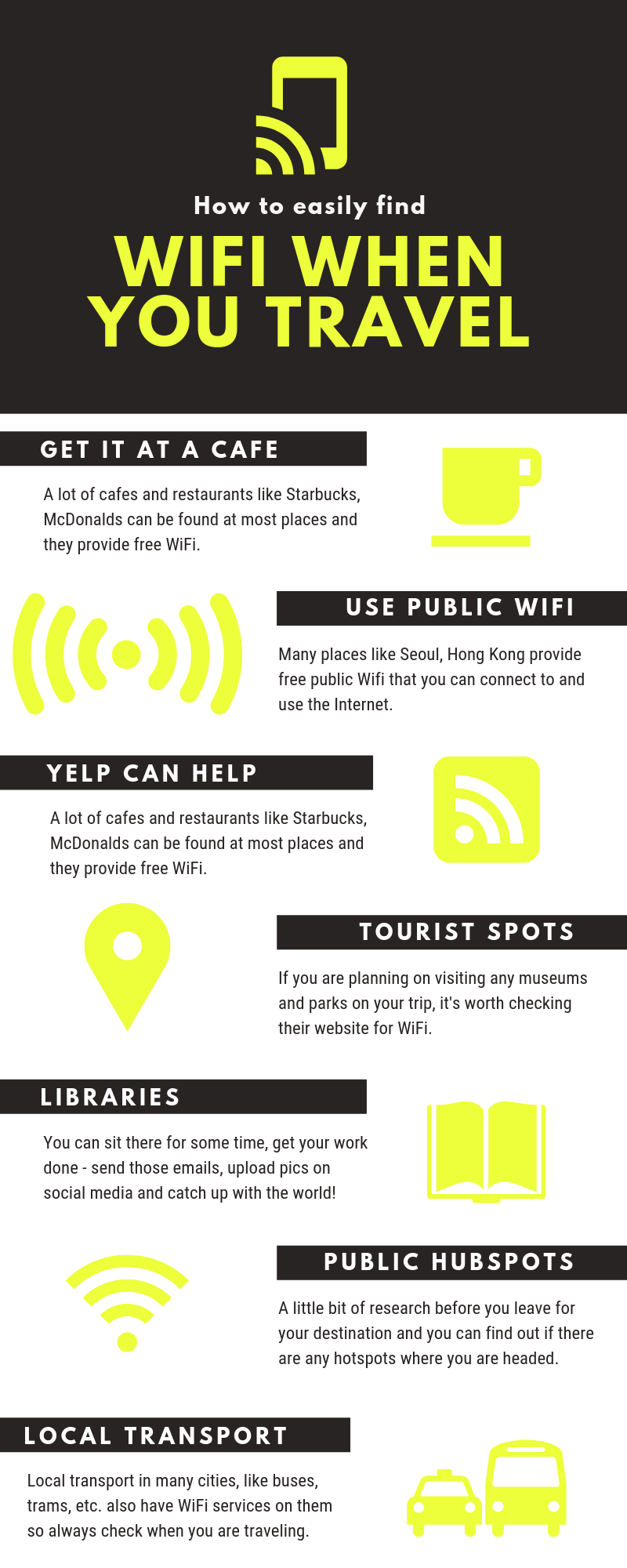 How to easily find WiFi when you travel Travel tips