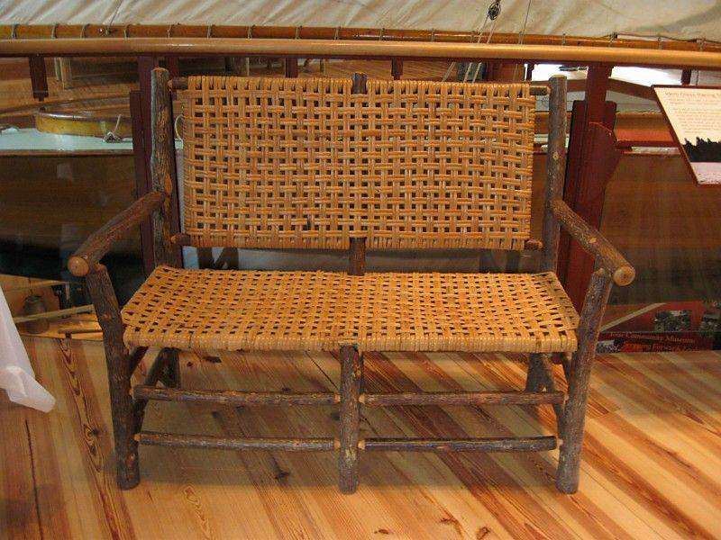 Old Hickory Furniture Adirondack Antique Show At The