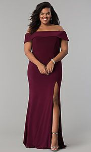 plussize long satin prom dress with corset back  plus