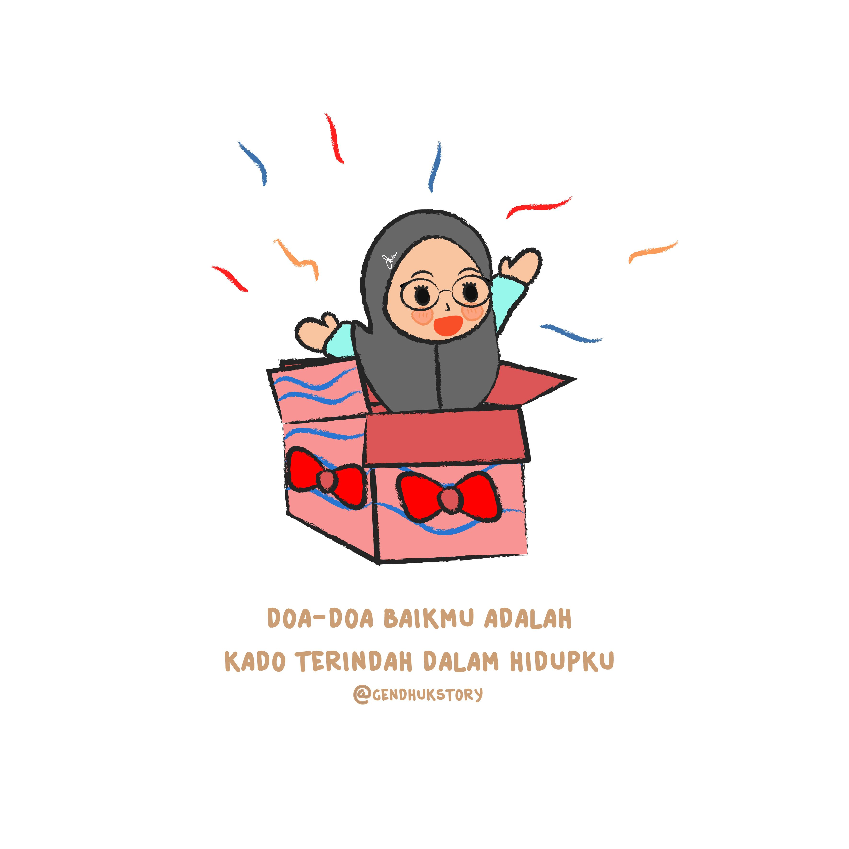 Gudang Gambar Kartun Baca Doa Phontekno