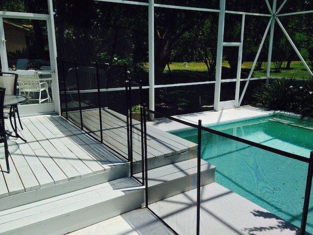 Daytona Beach Shores Pool Fence With Images Pool Fence