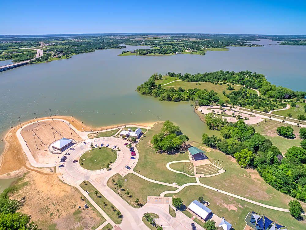 Little Elm Park Aerial Photo R Little Elm Little Elm Texas Visit Dallas