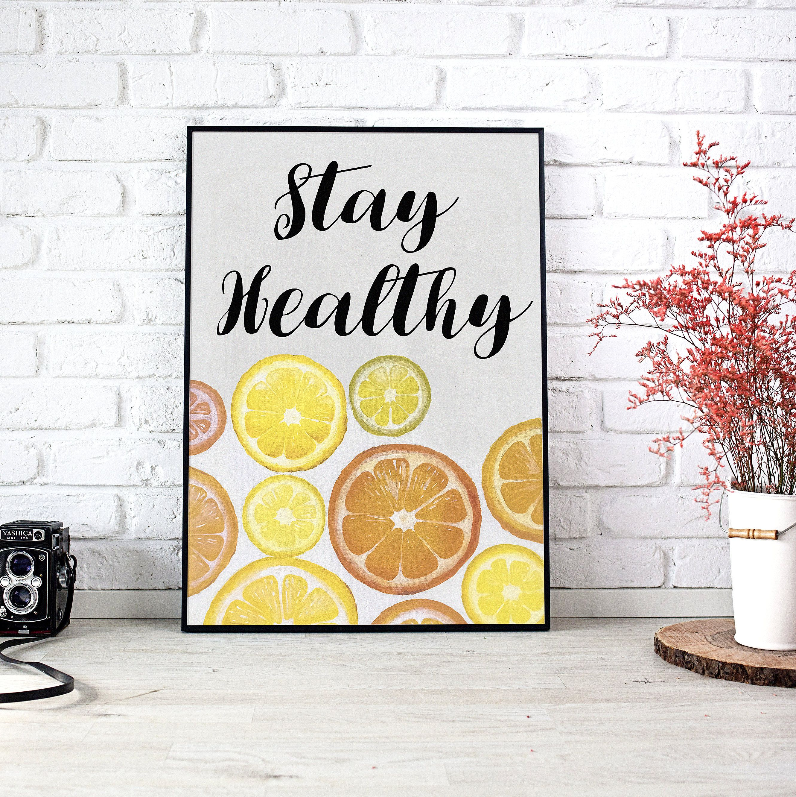 Lemons Art Print, Original Art , Motivational Quote, Original ...