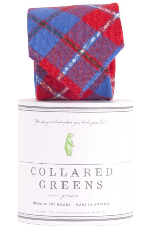 Collared Greens Galloway Necktie