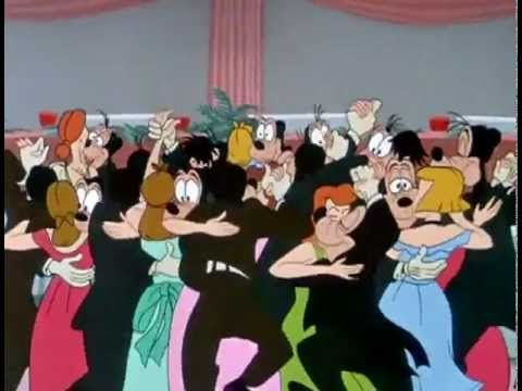 Goofy How To Dance 1953 Youtube Disney Cartoons Goofy Cartoon