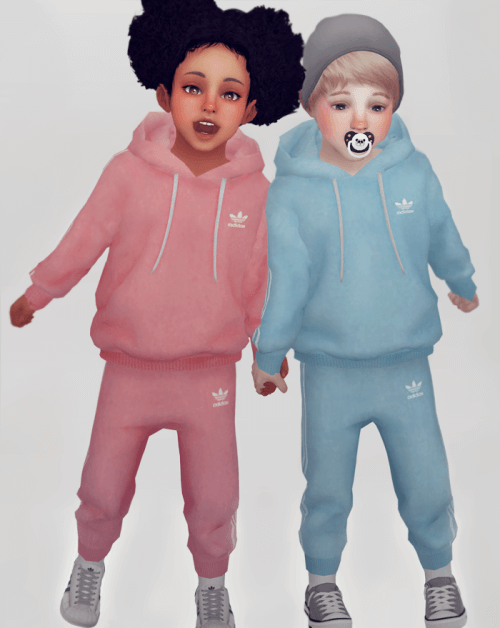 c3d035f46 Unisex Toddler Jogger set for The Sims 4